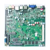 A placa do router do guarda-fogo X86, J1900 encaixou o cartão-matriz industrial com 64GB o SSD a bordo, C.C. 6V-36V Mainboard