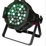 Lumière de disco de PARITÉ de la noce 54X3w RGBW de l'étape DMX512