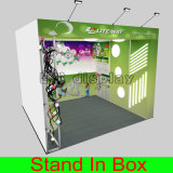 Cabine durable portative souple d'aluminium d'exposition de vente chaude