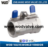 1 PC Ball Valve mit Butterfly Handle