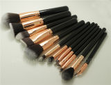 12PCS Portable Travel Rosa Gold Cosmetic Makeup Brush