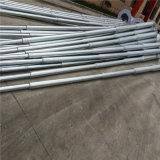 Posts aço galvanizado usados para Poste