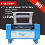 Машина CNC вырезывания гравировки лазера при одобренный Ce