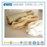 Palier déchiqueté de mousse de mémoire avec la couverture en bambou