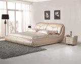 Base molle del cuoio della mobilia della casa della mobilia della camera da letto