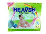 Tendência do novo mercado Pano-Como o tecido do bebê de Backsheet do algodão com fita dos PP