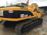 Excavador usado de la correa eslabonada del gato 320d2/excavador 320d 320b 320c de la oruga de las buenas condiciones