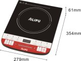 Caixa de ABS com botão Push Multi-Function Oilproof Induction Cooker