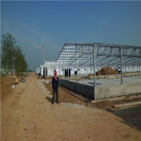 튼튼한 Prefabricated 강철 구조물 가금 경작 집