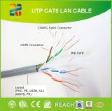 Câble à grande vitesse de l'Ethernet UTP CAT6 305m