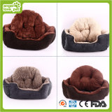 Veloursleder Fabric Thicken und Warm Pet Bed (HN-pH565)