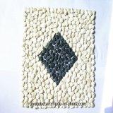 Di alta qualità di bianco mattonelle della parete di pietra del portello fuori
