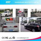 Tela de indicador do diodo emissor de luz da parte superior do táxi do brilho elevado da fonte P5 da fábrica de China