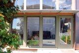 Portello interno K06027 di inclinazione & di girata di profilo di legno di alluminio di alta qualità