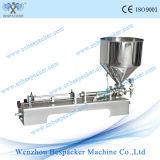Machine de remplissage crème Semi-Automatique pneumatique d'acier inoxydable