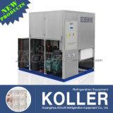 Máquina de gelo comercial 2000kg do cubo de Koller para bebidas