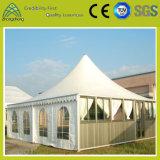 Tienda de aluminio impermeable blanca modificada para requisitos particulares del PVC de la familia