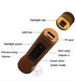 Multi beweglicher Bluetooth Fackel-funktionelllautsprecher mit Energien-Bank