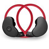 Hoofdtelefoon Bluetooth van de Sporten van de hals de Achter Vouwbare Draadloze