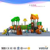 أطفال [أموسمنت برك] ملعب خارجيّ لأنّ ملعب بلاستيكيّة