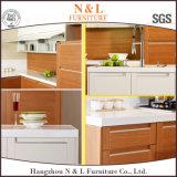 Mobilia modulare della cucina di stile della cucina della mobilia del PVC del portello BRITANNICO dell'agitatore