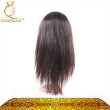 표피 Alinged 인도 똑바른 파 Virgin 머리 가발