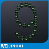 (t) piezas verdes sólidas del rociador de la niebla de la bola de cristal de la fábrica de 7m m