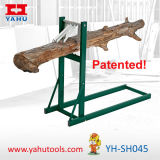 El encadenamiento de madera del burro del corte del diseño especial vio los registros de madera (YH-SH045)