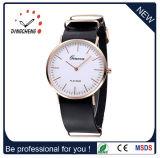 Montre-bracelet de luxe d'hommes de montre de Dw de quartz de mode marquée montre (DC-650)