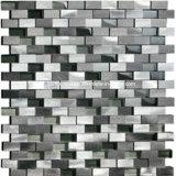 Mattonelle di mosaico di vetro 2016 & del metallo dell'annata dalla Cina (R 1670)