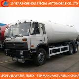 6X4 China Marca Dongfeng 25cbm de camiones GLP Bobtail en Venta