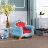 Bois solide de vente chaude européenne avec le sofa de tissu réglé/meubles d'enfants