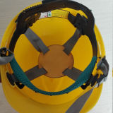 PE ou ABS Matériaux V Type Casque de sécurité industrielle