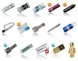 Kundenspezifisches förderndes Schlüsselform USB-Blinken-Laufwerk (ET656)