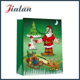 4c drukte de Zak van het Document van de Gift van de Hand van Kerstmis van het Beeldverhaal van het Met een laag bedekte Document af