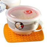 최신 접시 식탁 Non-Slip 높은 방열 뜨거운 패드를 위한 실리콘 남비 홀더 Trivet 우수한 매트