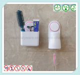 Держатель зубной щетки вспомогательного оборудования ванной комнаты установленный стеной с чашкой всасывания