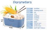 1.5 L mini cadre de déjeuner électrique multifonctionnel de réchauffeur de nourriture