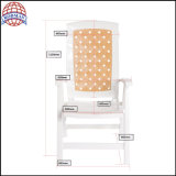 Ocioso plástico de Sunbed de los muebles de la silla de jardín de las sillas del uso plástico de la familia