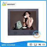 10.4 Zoll LCD Bildschirmanzeige-Spieler mit USB-Ableiter-Karte (MW-103AAS) bekanntmachend
