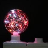 새로운 디자인 훈장을%s 빨간 지구 LED 별 전구 점화