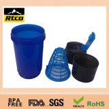 BPA livram o frasco bebendo 500ml 16oz Shk-034 da garrafa de água plástica relativa à promoção do esporte dos PP