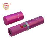 El lápiz labial rosado atonta la linterna del arma para la autodefensa (TW-328)