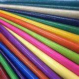 PVC de la alta calidad de cuero artificial para la fabricación de la tapicería del sofá de los muebles