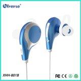 Azzurro stereo senza fili di Earbuds del trasduttore auricolare delle cuffie della cuffia avricolare di Bluetooth 4.1 di sport