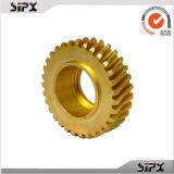 Части нарезание зубчатых колес на зубодолбежном станке Parts/CNC поставщика Китая латунные подвергая механической обработке