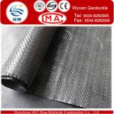 Geotêxtil tecido PP para a proteção da inclinação da tela da construção de estradas