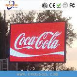 Tabellone per le affissioni esterno popolare della visualizzazione di LED P10 (10*6m-4*3m-6*4m)