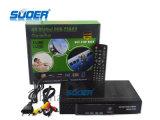 Caixa superior ajustada combinado de Recriver DVB da televisão satélite de Suoer HD DVB T2&S2