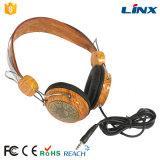 고객 로고를 가진 Lx-F4w 전문가 OEM 나무로 되는 헤드폰